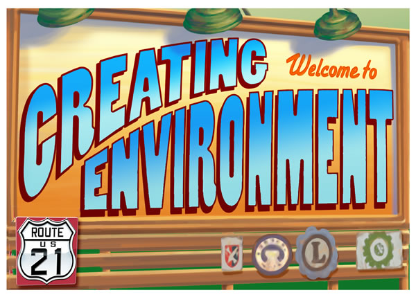 Creating Environment Postcard