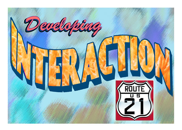 Developing Interaction Postcard