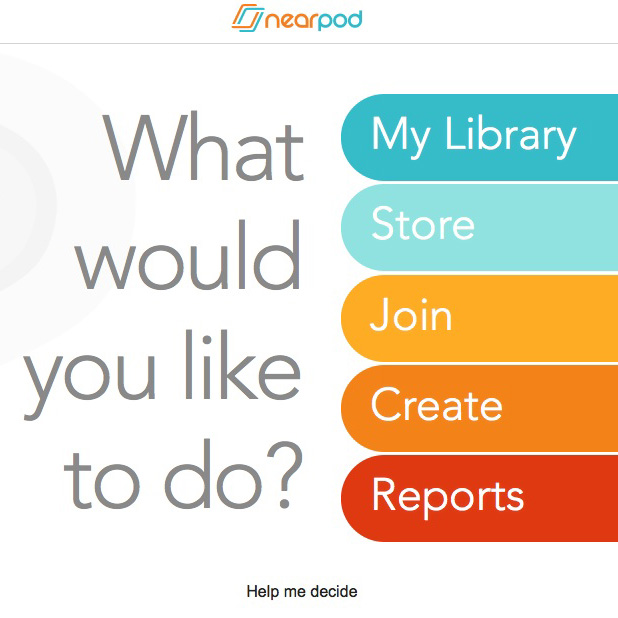 nearpod interface