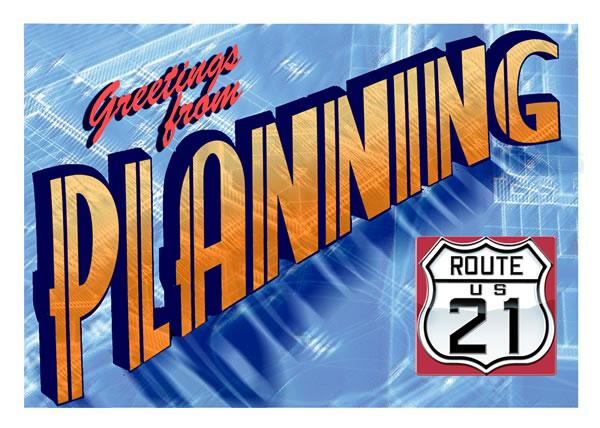 Planning Postcard