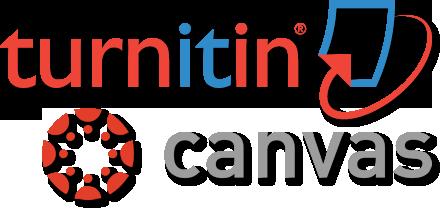 Canvas and Turnitin.com logo