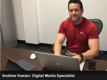 Andrew Kasian Digital Media Specialist