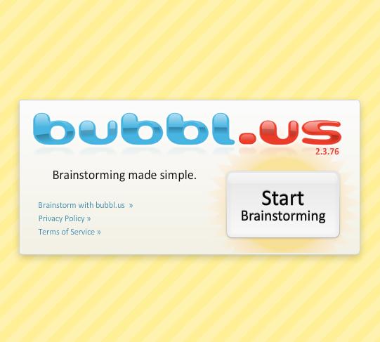 Bubblus CTL Crossroads - Branson bubbl us concept map